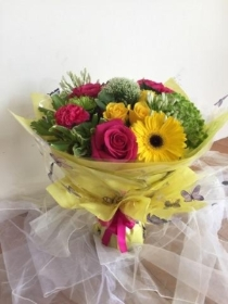 2. Hand tied Bouquet